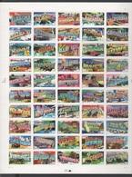 USA 2002 Vereinigte Staaten Mi 3520-3569 F-Bogen Greetings From The 50 States / Grüße Aus Den 50 Bundesstaaten MNH/** - Neufs