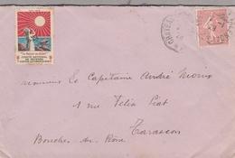 LSC 1928 -  Cachets - CHATEAU  VALENCAY & Vignette Contre La Tuberculose - Postmark Collection (Covers)