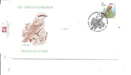 Belgique - Buzin - Pie Grièche écorcheur (  FDC De 2000 à Voir) - FDC