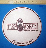 TARN WSKA'S AMERICAN BAR - Sotto-boccale