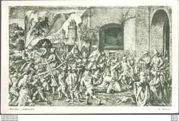 La Marche Au Calvaire , A.Dürer , Used , Circulee En 1962 - Paintings