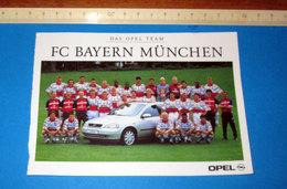FC BAYERN MUNCHEN OPEL 1998/99 - Sport