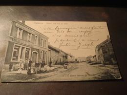 HALANZY GRAND RUE VUE DU HAUT 1908 AU BON MARCHE - Belgien