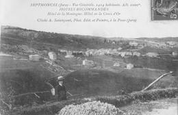 CPA Septmoncel 4 Septmoncel Vue Générale (Depuis La Route Des Moussières) - Septmoncel