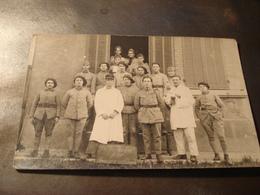 ON NE S EN FAIT PAS HONNEUR A NOS BLESSES CARTE PHOTO - Weltkrieg 1914-18