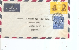 Maurice ( Lettre Par Avion De 1964 De Port-louis Vers La Grande-Bretagne à Voir) - Mauritius (...-1967)