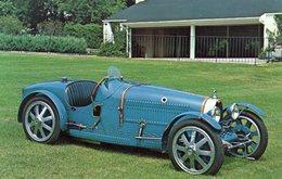 Bugatti Type 35C Grand Prix Race Car  -  1928  -  Carte Postale - Grand Prix / F1