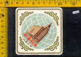 Etichetta Birra Chinese - Cina - Birra