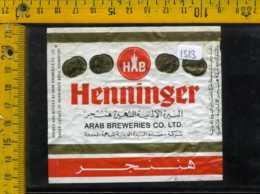 Etichetta Birra Henninger - Germania - Birra