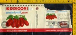 Etichetta Alimentare Pomodori Pelati Arrigoni - Etichette