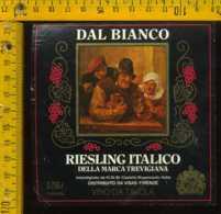 Etichetta Vino Liquore Rieslin Italico Della Marca Trevigiana-Castello Roganzuolo TV - Etichette