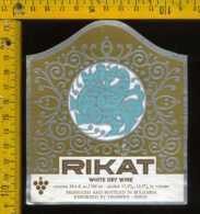 Etichetta Vino Liquore Rikat - Bulgaria - Etichette