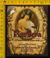 Etichetta Vino Liquore Barbera Del Piemonte A. Vallana - Maggiora - Etichette