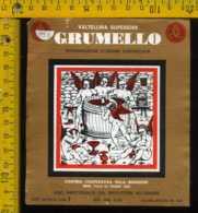 Etichetta Vino Liquore Grumello Villa-Bianzone - Tirano SO - Etichette