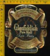 Etichetta Vino Liquore Whisky Glenfiddich Pure Malt - Scozia - Etichette