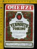 Etichetta Vino Liquore Vermouth Di Torino Gherzi - Canelli AT - Etichette