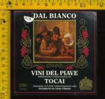 Etichetta Vino Liquore Dal Bianco Tocai Castello Roganzuolo TV - Etichette