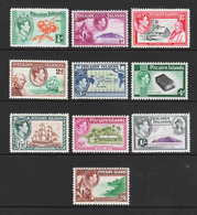 Pitcairn Islands - Scott #1-8 MH - Complete Set - Stamps