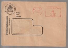 M 1126) AFSt Hamburg 1949: Statistisches Landesamt, Statistik - Wissenschaften