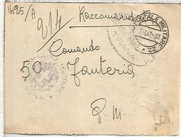 ITALIA 1941 UFFICIO POSTALE MILITARE 22 OSPEDALE MILITARE TIRANA ALBANIA - 1900-44 Victor Emmanuel III