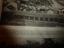 HANOÏ ;Tonkin;Co-Xa;Vietnam;Fleuve Rouge;Indochine;Ngoc-Son;etc  (pages éparses De L'année 1902) - Old Paper