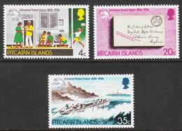 Pitcairn Islands - Scott #141-43 MH - Pitcairn Islands