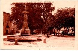 ** REVEL La Fontaine Des Trois Grâces ** CPA Ecrite En 1935 TBE - Revel