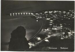 W1504 Terracina (Latina) - Panorama Notturno - Notte Nuit Night Nacht Noche / Viaggiata - Altre Città