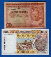 Mali 2 Billets - Mali