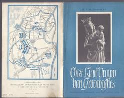 1952 ONZE LIEVE VROUW VAN GROENINGHE DAVIDSFONDS WAREGEM AAN ZIJN LEDEN - NIET TE VINDEN OP INTERNET - Histoire