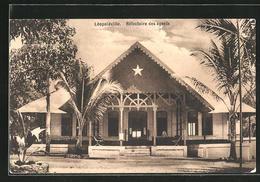 CPA Léopoldville, Réfectoire Des Agents - Congo - Kinshasa (ex-Zaïre)