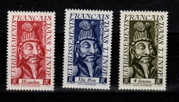 Inde - YV 255 à 257 N** Complete Ascete Brahmanique Cote 9,10+ Euros - Inde (1892-1954)