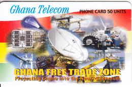 GHANA - Earth Station, Free Trade Zone, 05/00, Used - Ghana