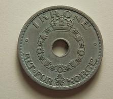 Norway 1 Krone 1940 - Norwegen