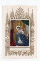 Saint Charles Borromée (gravure Colorée, 19ieme) - Devotieprenten