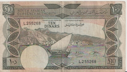 YEMEN DEMOCRATIC P. 5 10 D 1965 VF - Yemen