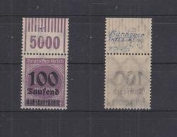 Deutsches Reich 289b OPD E A W OR 1'11'1 ** Postfrisch Signiert, Hannover #RQ393 - Alemania