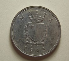 Malta 25 Cents 1995 - Malta