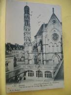 L12 8586 - CPA 1908 - 62 ARRAS. L'ANCIENNE CHAPELLE DES URSULINES. VUE DE LA COUR DU COLLEGE DES JEUNES FILLES. - Arras