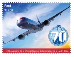 Peru 2019 70 Anniversary International Civil Aviation Organization ICAO Aircraft Flugzeug - Peru