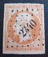 DF50500/389 - NAPOLEON III N°16 - PC 2340 : ORLEANS (Loiret) - Cote : 22,00 € - 1853-1860 Napoléon III