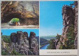 Sächsische Schweiz - Multiview - Landschaftsschutzgebiet  //  Vg DDR - G2 - Koenigstein (Saechs. Schw.)