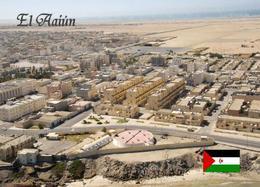 Western Sahara El-Aaiún Aerial View Laayoune New Postcard - Sahara Occidental