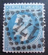 DF50500/396 - NAPOLEON III Lauré N°29B - GC 174 : ARRAS (Pas De Calais) - BON CENTRAGE - 1863-1870 Napoleon III With Laurels
