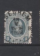 COB 193 Oblitération Centrale ISEGHEM B Dispersion D'un Ensemble Houyoux Oblitérations Concours - 1922-1927 Houyoux