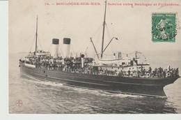 C. P. A. - BOULOGNE SUR MER - SERVICE ENTRE BOULOGNE ET FOLKESTONE - 78 - G. P. - Boulogne Sur Mer