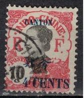 CANTON              N°  YVERT    71             OBLITERE       ( O   3/12  ) - Canton (1901-1922)