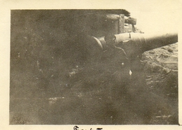 PHOTO ALLEMANDE - LITHUANIA LITUANIE - ARTILLERIE AU FORT 2 A KOWNO - KAUNAS - GUERRE 1914 1918 - 1914-18
