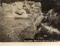 PHOTO ALLEMANDE - LITHUANIA LITUANIE - CREUSEMENT DE TRANCHE ALLEMANDE A KOWNO - KAUNAS - GUERRE 1914 1918 - 1914-18
