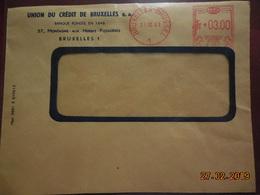 Lettre De 1961 Avec EMA - Postmark Collection